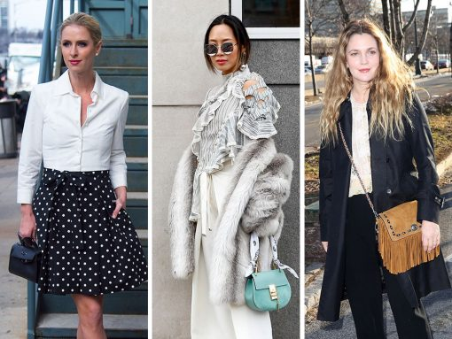 The Many Bags of New York Fashion Week Fall 2017's Celebrity Attendees