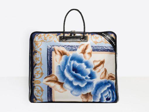 No, It's Not Just You: Balenciaga's Big New Bag Looks Like Fancy Duvet Storage