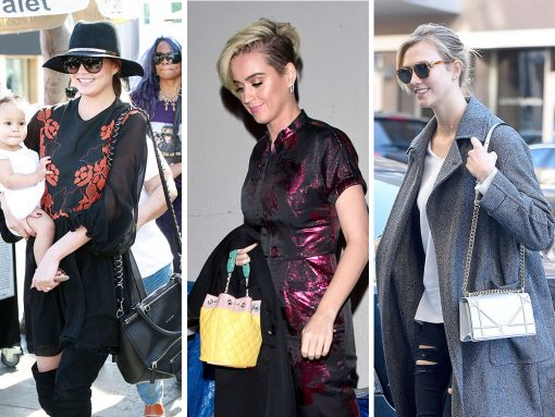 Celebs Sport New 'Dos and New Bags from Louis Vuitton, Chanel and Dior
