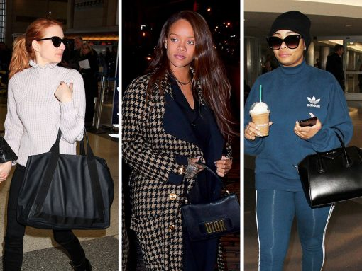 Celebs Make Mass Exodus Out of LA with Bags from Givenchy, Balenciaga and More