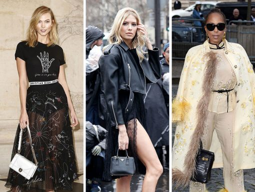 The Best Bag Looks of Paris Fashion Week Fall 2017's Celebrity Attendees