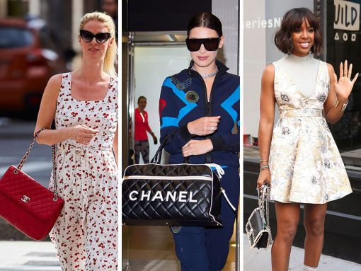 For a Bunch of Our Favorite Celebs, the Theme of the Week is Sun's Out, Chanels Out
