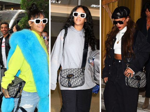 Just Can't Get Enough: Rihanna and Her Dior Saddle Bag