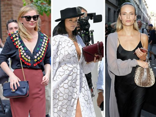This Week, Celebs and Their Bags Flock to Men's Fashion Week in Milan, Among Other Locales