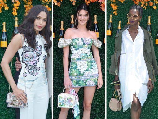 Celebs Take Gucci, Chloé and Dolce & Gabbana Bag to Veuve Clicquot Polo Classic