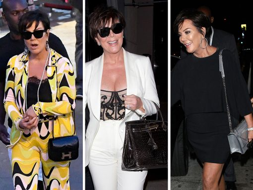 Unsurprisingly, Kris Jenner Has Been Killing the Bag Game Lately