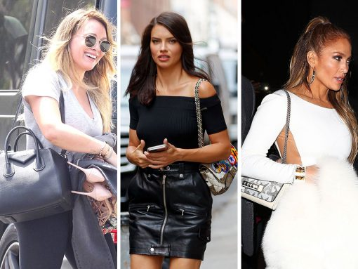 Chanel, Louis Vuitton and Valentino Bags Added Punch to Celeb Wardrobes This Week
