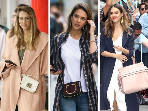 Jessica Alba Has Been Keeping a Lower Profile Lately, but Her Bag Game is Still Great