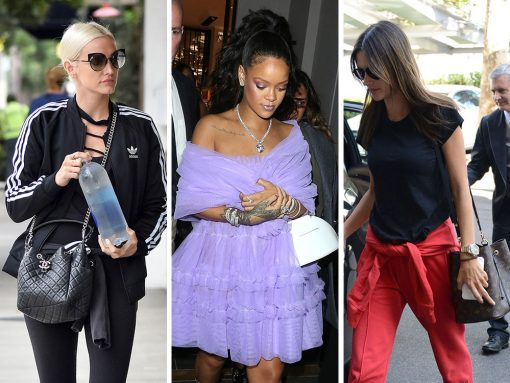 Celebs Stay Up Late with Bags from Valentino, Louis Vuitton and Salvatore Ferragamo