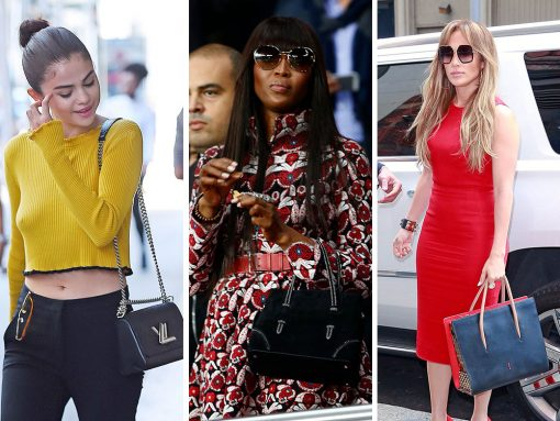 Celebs Flock Through LAX and Rep Their Teams with Bags from Louis Vuitton, Dior and Alaïa