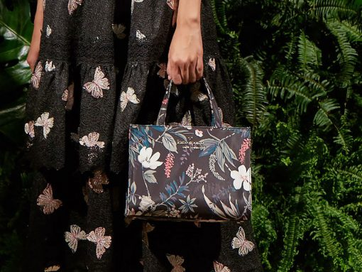 Kate Spade Goes Back to Its Roots with Boxy Little Bags for Spring 2018