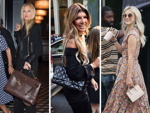 Celebs Hit the Press Circuit with Salvatore Ferragamo, Dior and Chanel