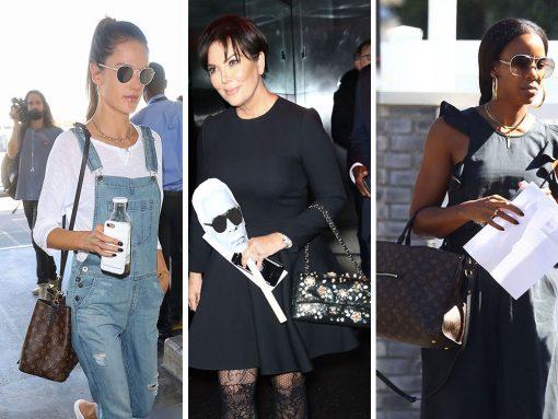 Celebs Remain Single-Minded, Return to Their Favorite Bag Brands This Week