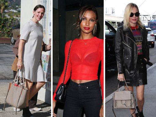 Models, Actresses, and Model/Actresses Show Us Their Best Bags from Gabriela Hearst, Gucci and Chloé