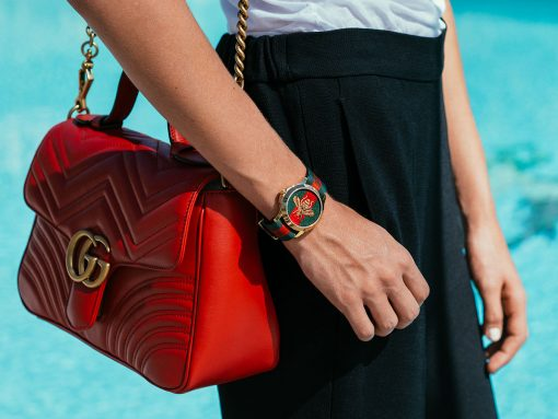 A Close Look at the Amazing Details of Gucci Handbags and Timepieces