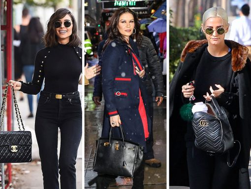 Celebs Promote Their Latest Works While Carrying Hermès, Louis Vuitton and The Row Bags