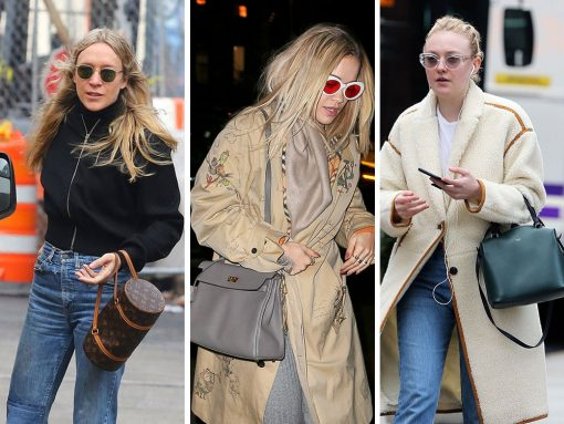 Prada and Céline Are the Obvious Celebrity Bag Faves This Week