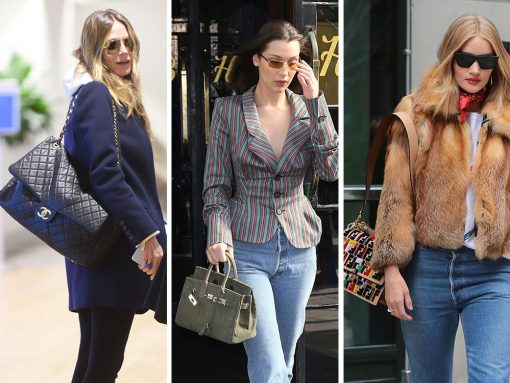 Celebs Tempt Us with Colorful Bags from Fendi, Bulgari and Frame