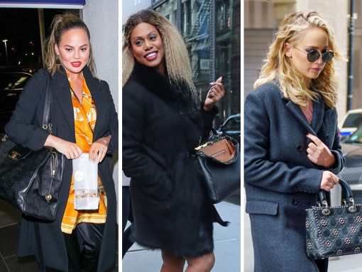 Snack n' Schmooze: Celebs Carry Dior, Chanel and Louis Vuitton Between Bites