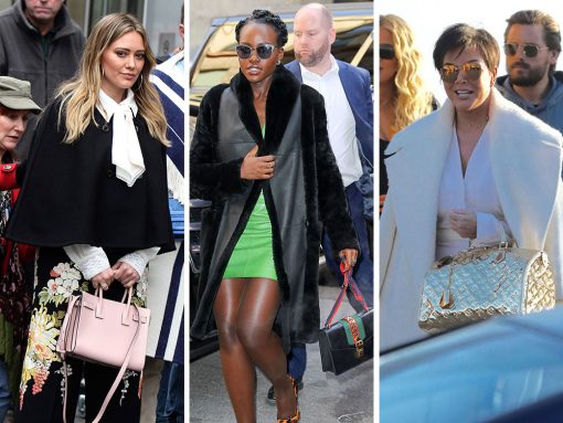 Celebs Run Hot and Cold with New and Old Bags from Tod's, Proenza Schouler and Louis Vuitton