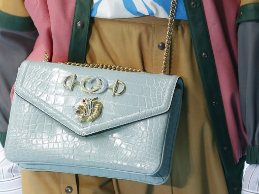 Get Your First Look at Gucci's Fall 2018 Bags, Straight From the Milan Runway