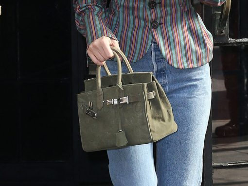 Why in the World Would Bella Hadid Carry a Bag That Looks Like—But is Not—an Hermès Birkin