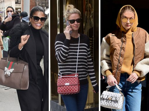 This Weeks, Celebs Push Their Own Designs Alongside Bags from Gucci, Balenicaga and More