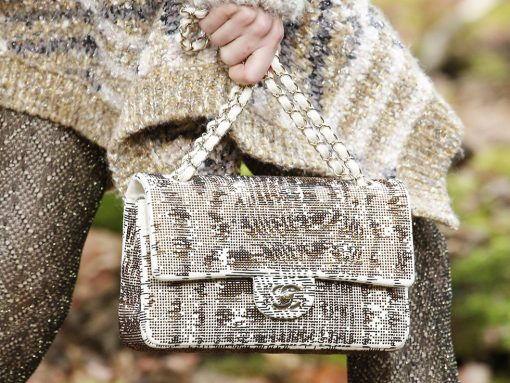 Chanel's Fall 2018 Collection Takes to the Woods and Puts Heavy Emphasis on a Brand New Bag Style