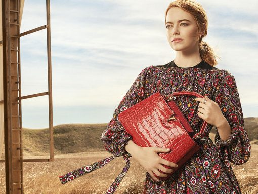 Emma Stone and the Capucines Bag are Louis Vuitton's New Campaign Stars