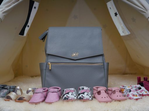 Review of my Freshly Picked Diaper Bag (and the Baby Shoes I'm Obsessed With)