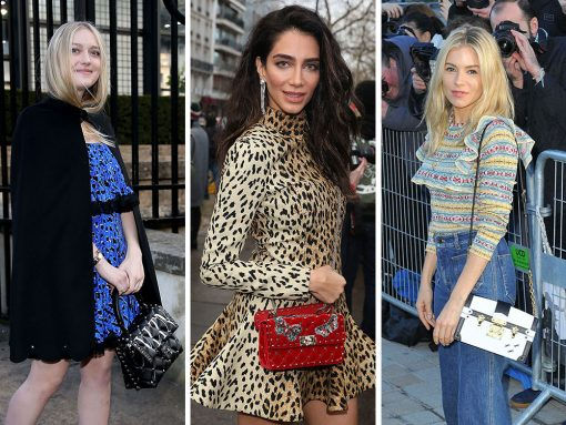 The Best Celebrity Bag Looks of Paris Fashion Week Fall 2018