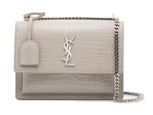 No Matter Your Budget, Embossed Crocodile is The Bag Trend to Watch