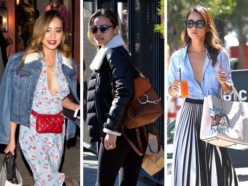 Jamie Chung Loves Chloé, Chanel and a Good Mystery Bag