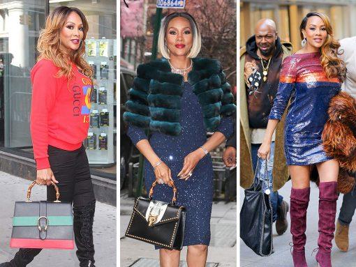 Vivica A. Fox's Various Press Tours Remind Us She Has Excellent Bags