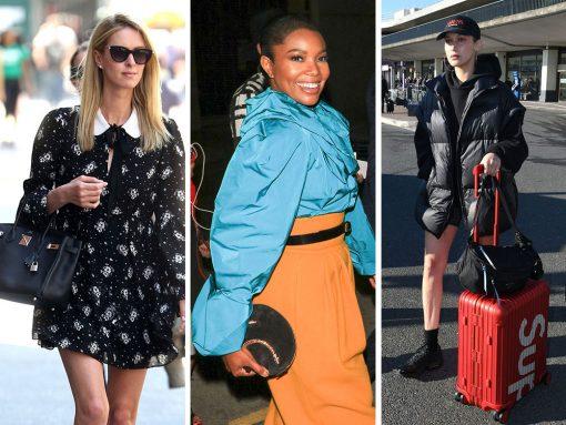 Celebs Flaunt Céline, Prada and Saint Laurent Bags All Over Known Fashion Universe