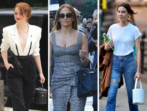 Louis Vuitton Leads the Pack of Celebrity Bag Picks This Week