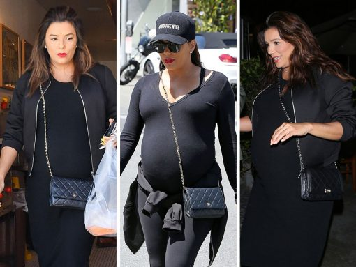 Just Can't Get Enough: Eva Longoria and Her Chanel WOC Bags