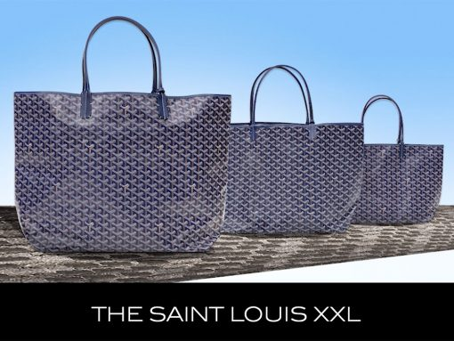 The Super Popular Goyard Saint Louis Tote Now Comes in a Brand New Size