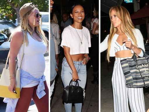 Compact Pouches and Beachy Totes are Celebs' Top Choices This Week