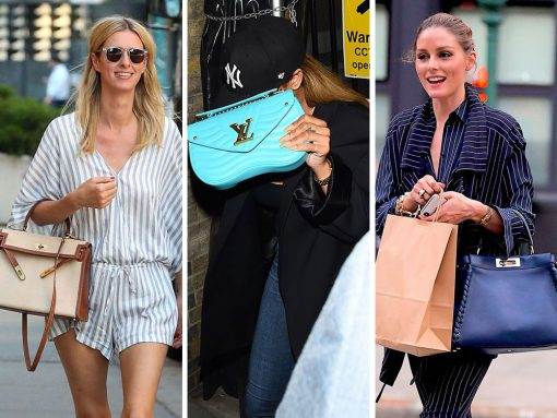 Brand New Saint Laurent and Louis Vuitton Bags are Celebs' Top Picks This Week