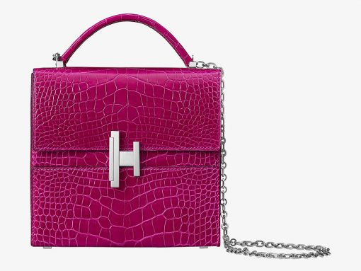 Get Your First Look Inside the Hermès Cinhetic Top Handle Bag
