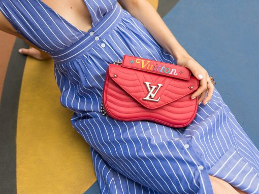 A Closer Look at the Louis Vuitton New Wave Bag