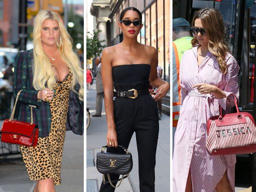 This Week in Celebrity Bags, All the Jessicas and Jennifers Convene in NYC with Bags from Hermès, Valentino and Fendi