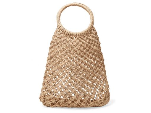 Have You Noticed a Lot of Net and Macramé Bags Hanging Around Recently?
