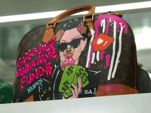 PurseBlog Asks: Would You Ever Have One of Your Bags Custom-Painted?