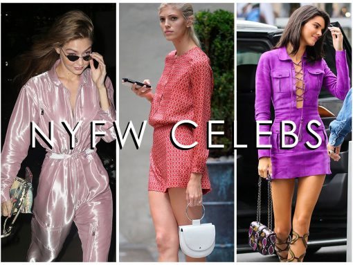 Celebs Celebrate NYFW with Bags from Louis Vuitton, Longchamp and Fendi