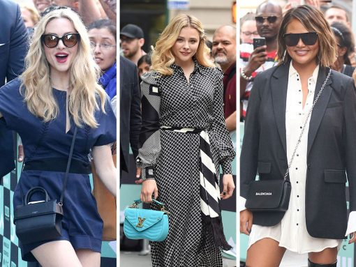 For Reasons We've Never Quite Understood, Celebs Bring Their A+ Bag Game to the BUILD Series
