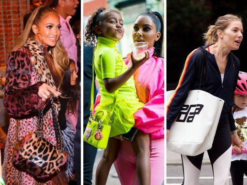 This Week, Celebs Carry Toddlers, Prada, Hermès and Fendi