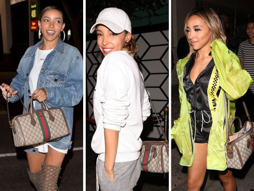 Just Can't Get Enough: Tinashe and Her Gucci Ophidia Top Handle Bag