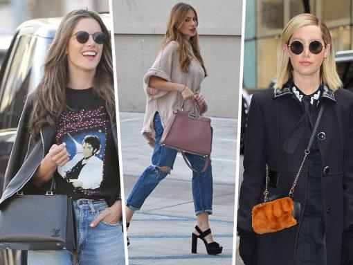 Celebs Rush Around with Prada, Fendi and Louis Vuitton